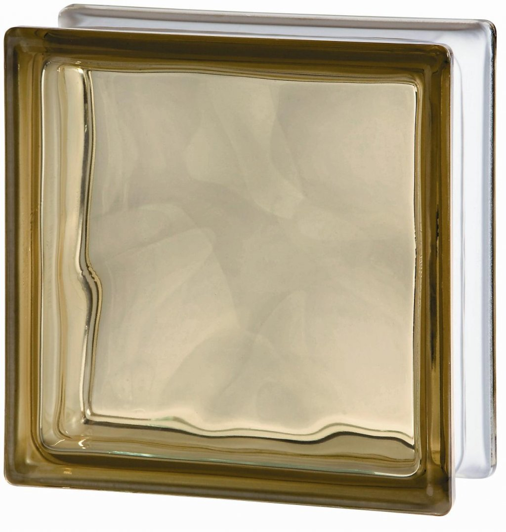 Luxfera 1919-8WBN Wave Brown, s vlnkou, hnědá 0