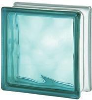 Luxfera 1919-8WTE Wave Turquoise, s vlnkou, tyrkysová 1