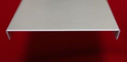 Zakončovací profil pro 5 luxfer, hliník 0