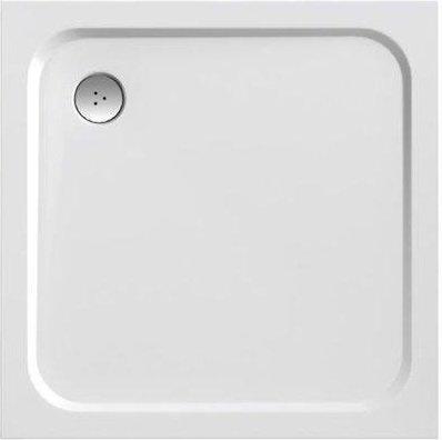 Sprchová vanička čtvercová PERSEUS PRO-80 Ravak CHROME, bílá