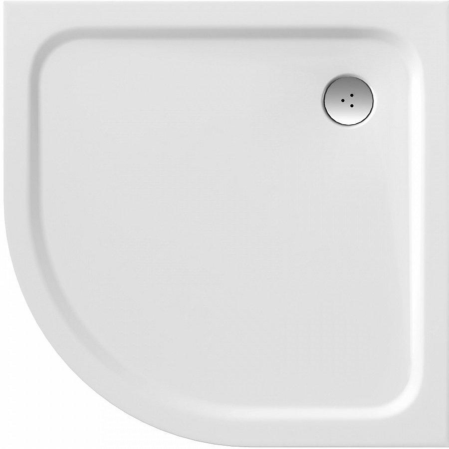 Sprchová vanička čtvrtkruhová ELIPSO PRO Ravak CHROME 0