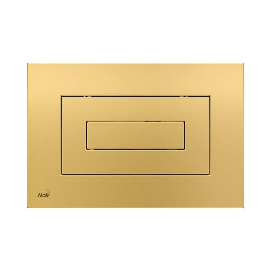 Ovládací tlačítko M472 AlcaPlast pro předstěnové instalační systémy, zlatá 0