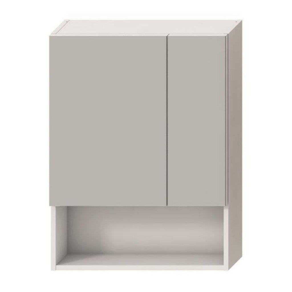 Zrcadlová skříňka 80 x 60 cm Jika LYRA, bílá 0
