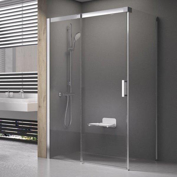 Sprchové dveře dvoudílné MSD2-110 L Ravak MATRIX 0