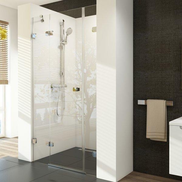 Sprchové dveře dvojdílné BSD3-120 L Ravak BRILLIANT 0