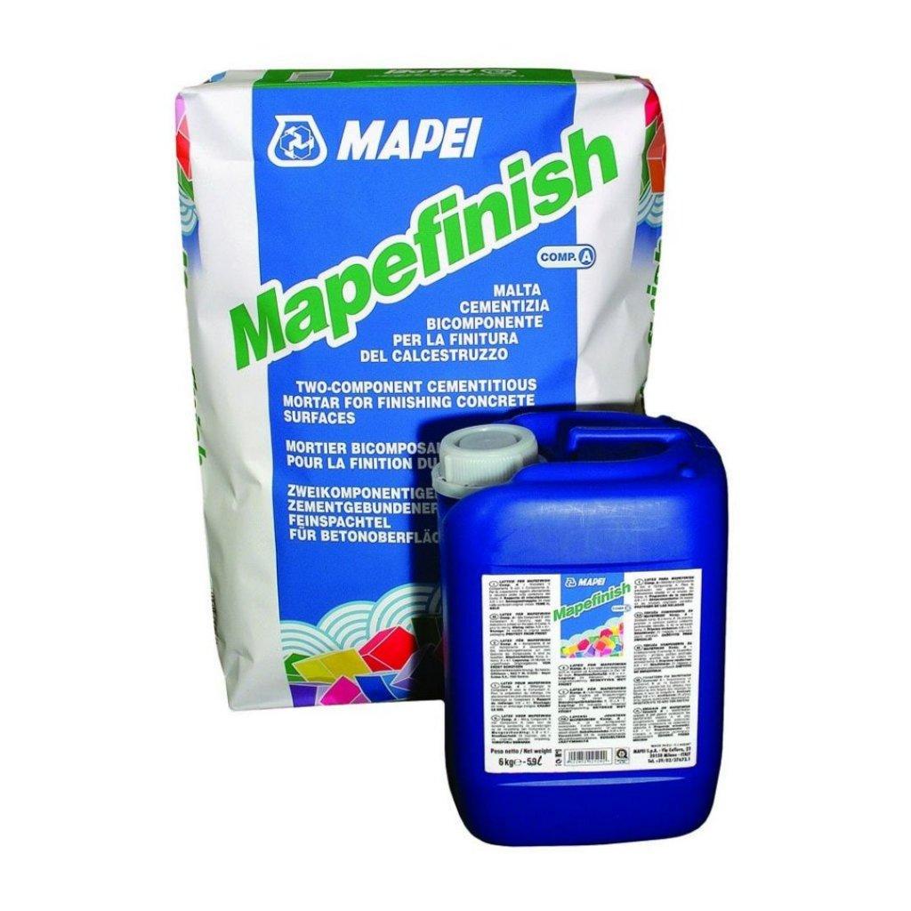 MAPEFINISH/A+B Mapei Dokončovací stěrková hmota pro sanaci betonu, 30 kg 0