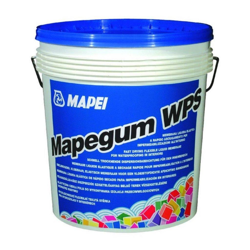 MAPEGUM WPS šedý Mapei Tekutá rychle schnoucí stěrka, 5kg 0