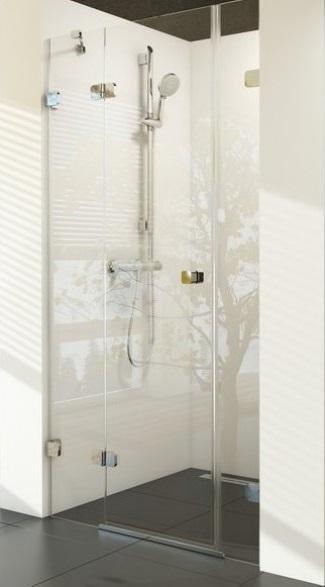 Sprchové dveře dvojdílné BSD3-110 L Ravak BRILLIANT 0