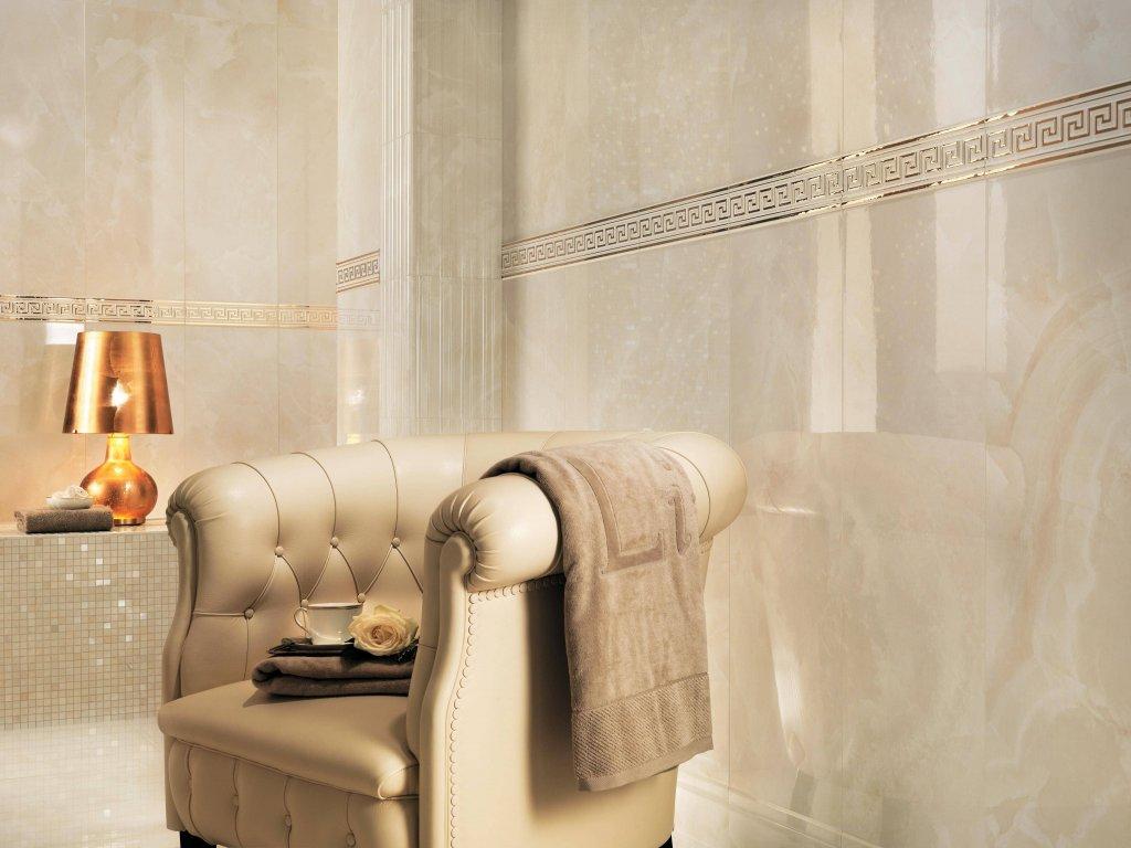 Obklad 30,5x91,5 cm Atlas Concorde MARVEL Champagne Onyx lesk