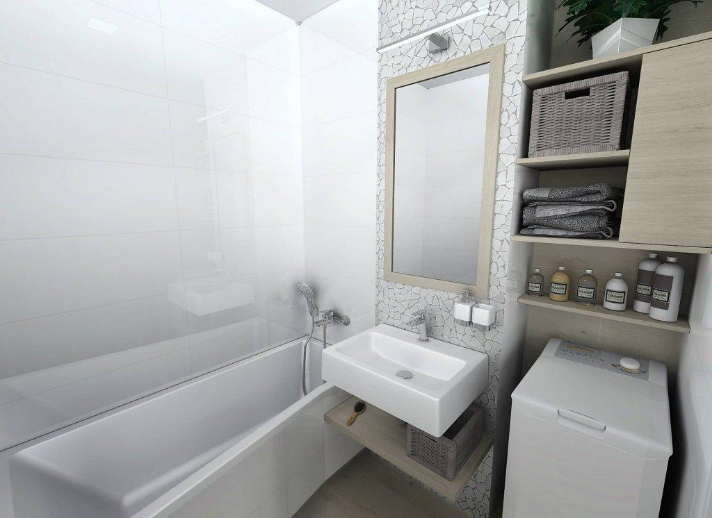 Obklad Kerawhite 30x60, bílá, matt, rett.