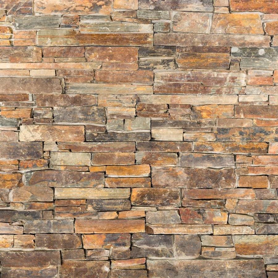 Skládaný obklad Wallstone N 3002 Rusty Slate, plošný, 55x15x1-3 0