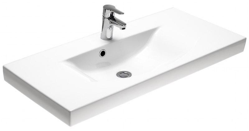 Umyvadlo 92 cm Gustavsberg LOGIC 92 nábytkové, bílá E+ glazura 1