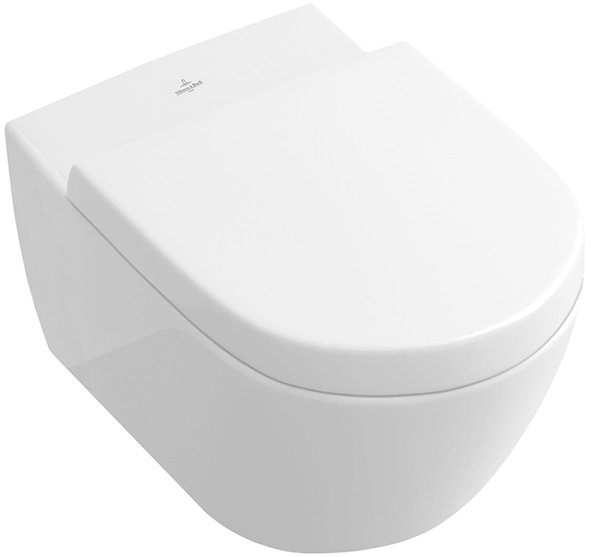 V&B Subway 2.0 WC Direct Flush Combi-Pack, Bílá Alpin CeramicPlus 0