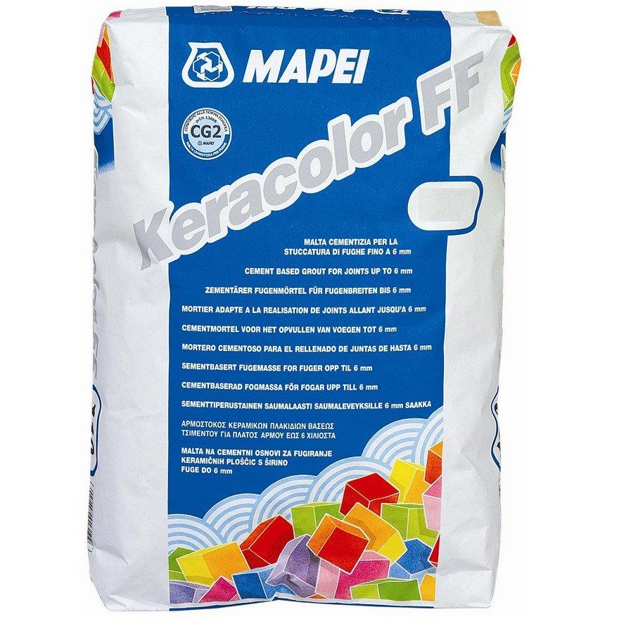 KERACOLOR FF 100 bílý Mapei Cementová spárovací hmota, 25kg 0
