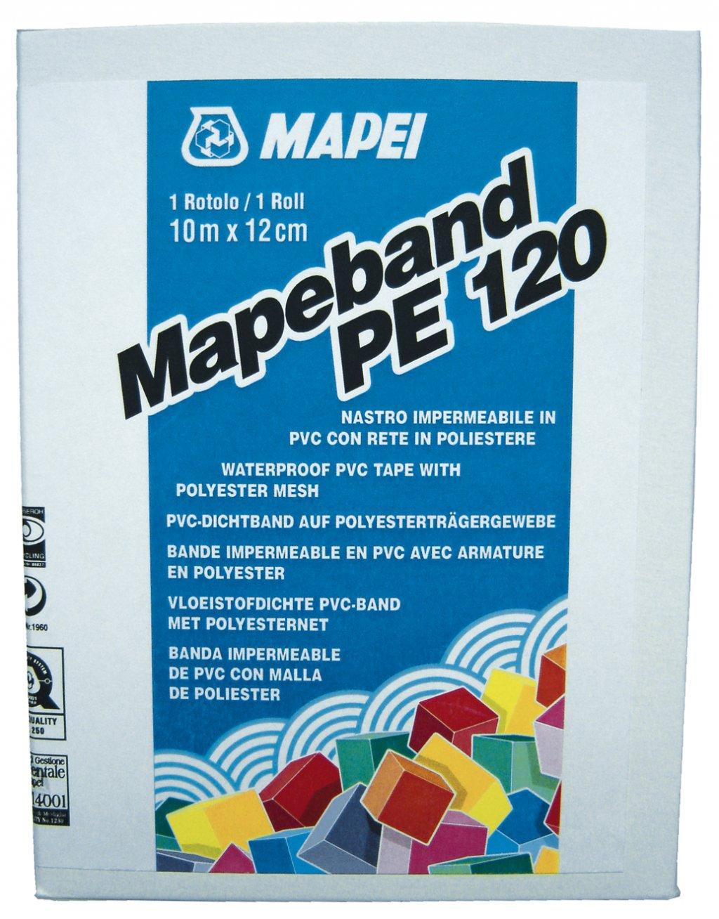MAPEBAND PE 120 Mapei Polyesterový pogumovaný pás, vnitřní roh 0