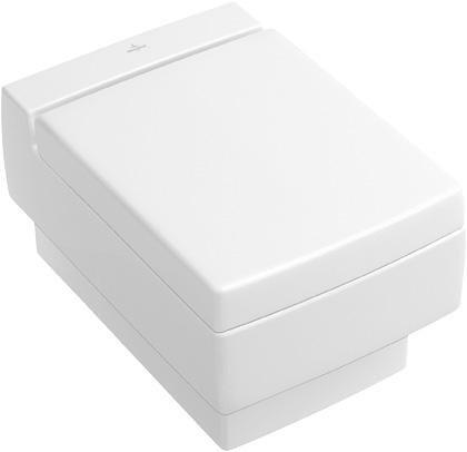 V&B Memento, Klozetové sedátko s poklopem, Bílá Alpin Ceramicplus 1