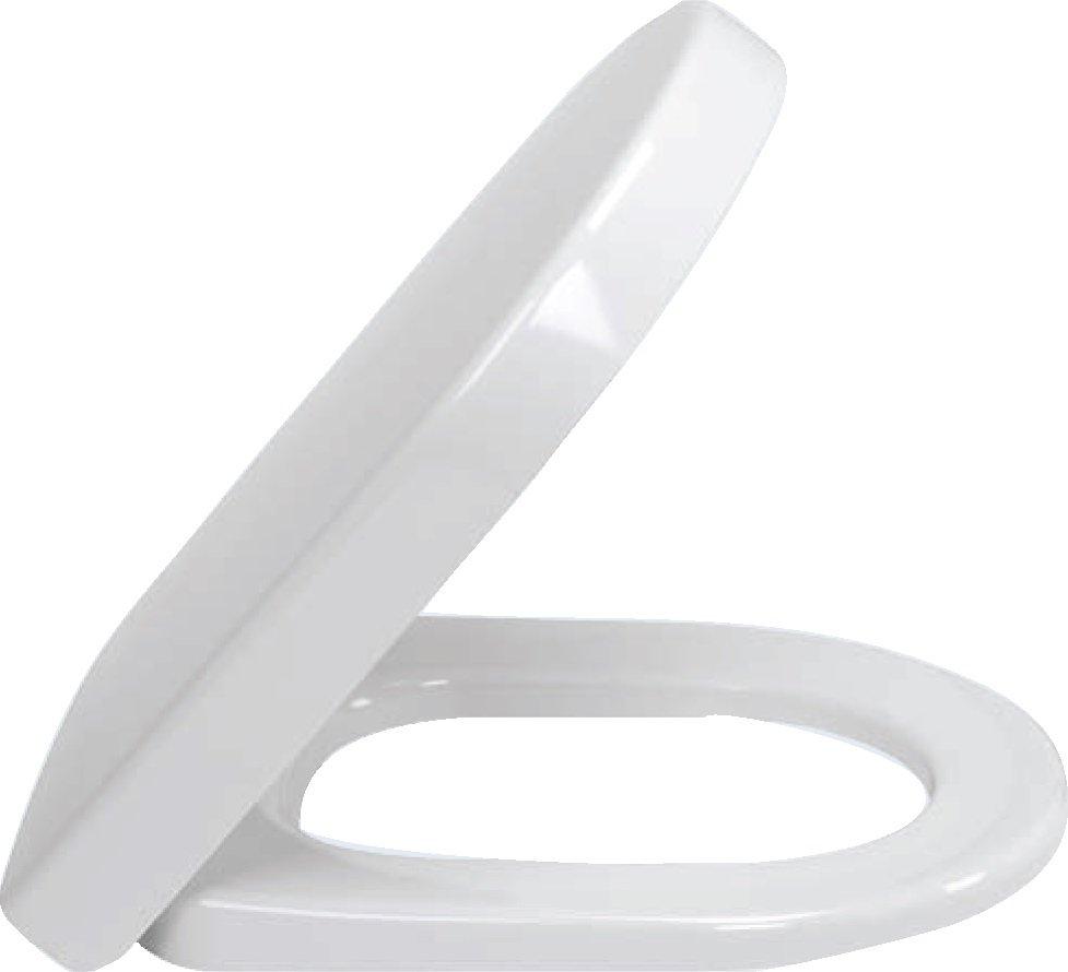 V&B Subway 2.0, Klozetové sedátko s poklopem, závesy z ušlechtilé oceli, Star White Ceramicplus 0