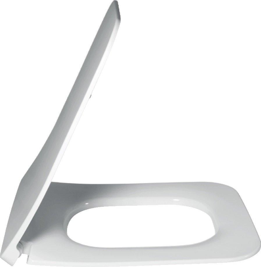 V&B Venticello, klozetové sedátko s poklopem SlimSeat, quick-relase, softclosing, Bílá 0
