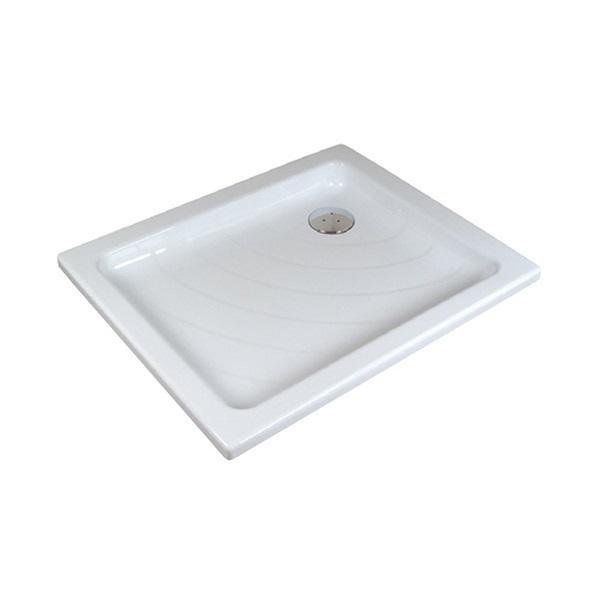 Sprchová vanička ANETA 75 x 90 LA Ravak KASKADA, bílá 1