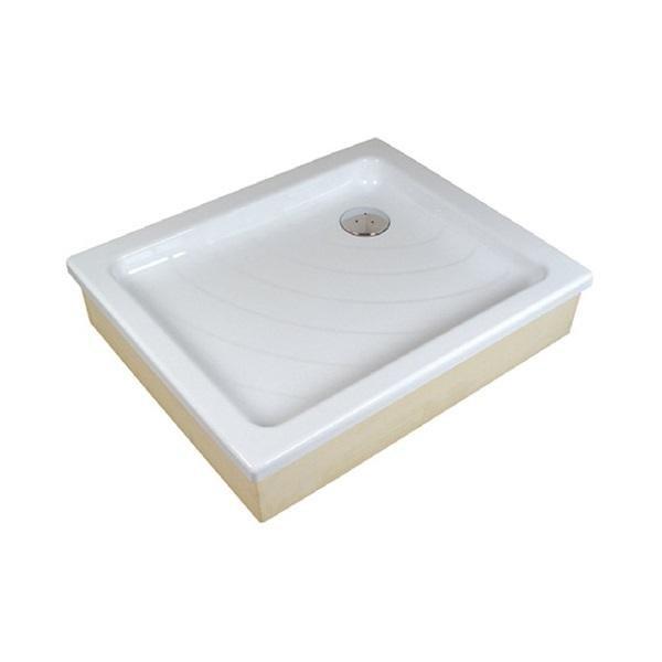 Sprchová vanička ANETA 75 x 90 EX Ravak KASKADA, bílá 1
