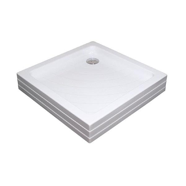 Sprchová vanička ANGELA-80 PU Ravak KASKADA, bílá 1