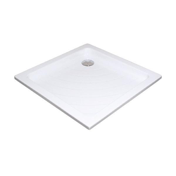 Sprchová vanička ANGELA-80 LA Ravak KASKADA, bílá 1