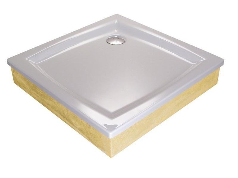 Sprchová vanička PERSEUS-100 EX Ravak GALAXY, bílá
