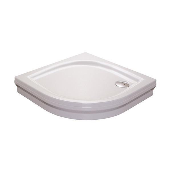 Sprchová vanička ELIPSO-80 PAN Ravak GALAXY, bílá