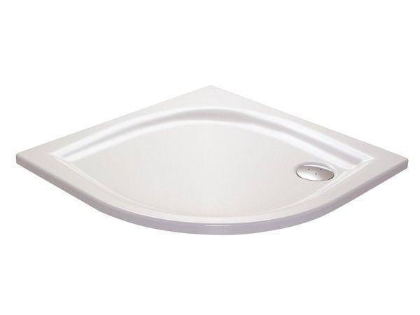 Sprchová vanička ELIPSO-100 LA Ravak GALAXY, bílá 1