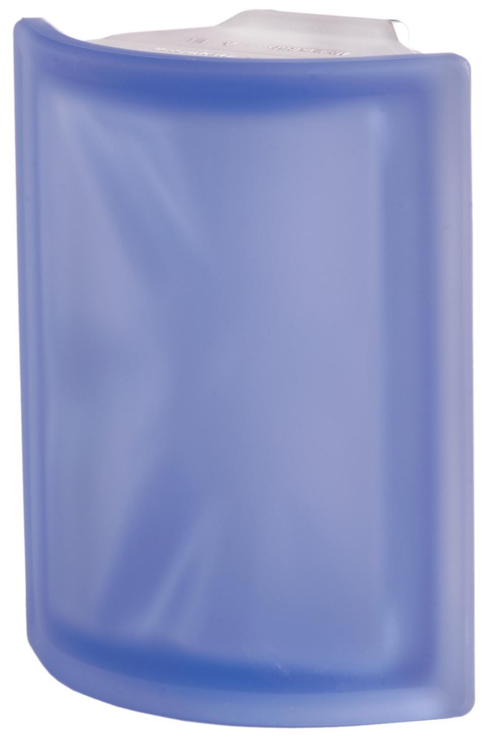 Luxfera Pegasus Angolare O Sat Blu, svlnkou, rohová satin 0