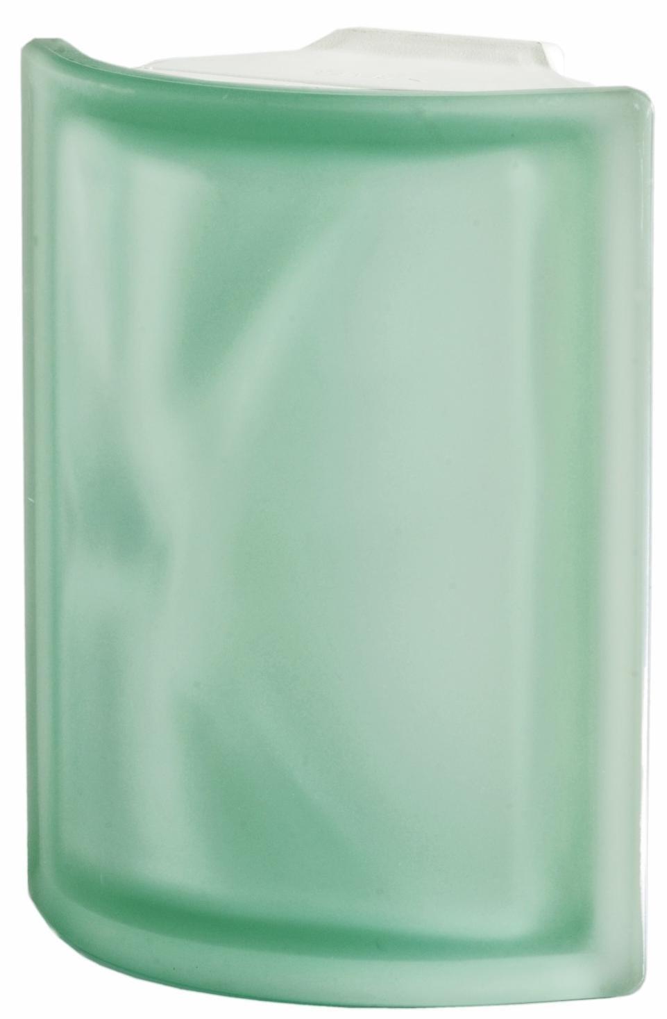 Luxfera Pegasus Angolare O Sat Verde, svlnkou, rohová satin 0
