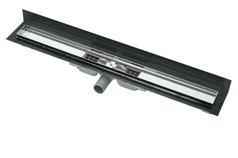 APZ104-850 Flexible Low Podlahový nerezový žlab AlcaPlast pod libovolný obklad 1