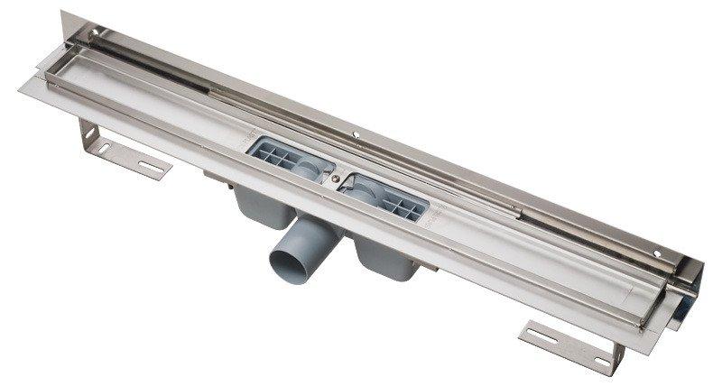 APZ4-1050 podlahový nerezový žlab AlcaPlast 1100 mm 1