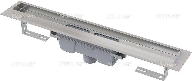 Podlahový žlab AlcaPlast PROFESSIONAL APZ1006-1150 s okrajem, pro plný rošt, svislý odtok 1