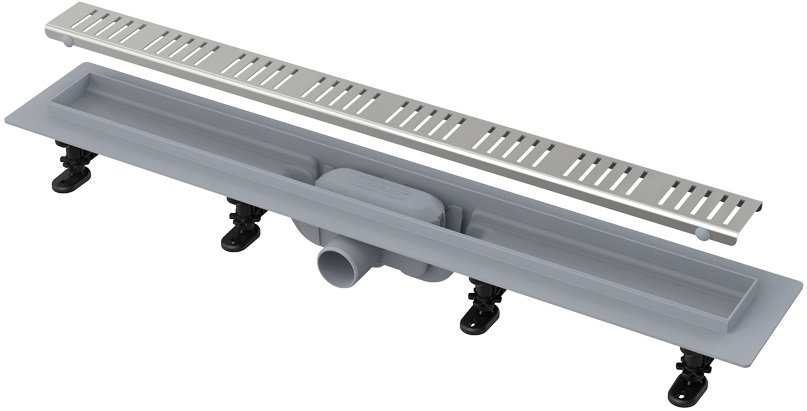 APZ10-550 Simple podlahový plastový žlab AlcaPlast 600 mm 0