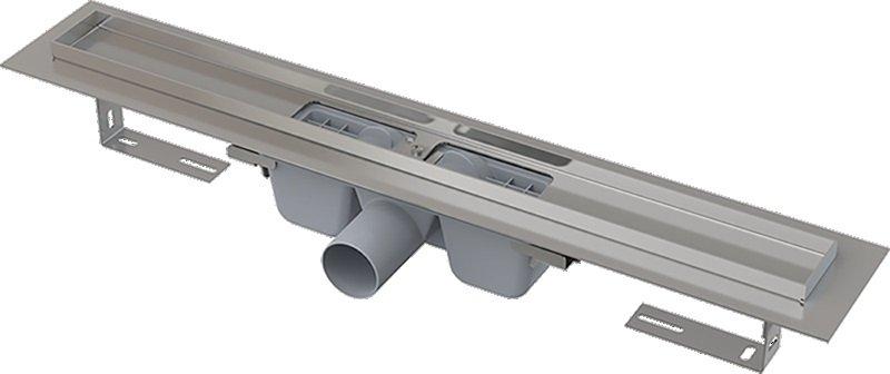 Podlahový žlab nerez 1000 mm APZ1-950 AlcaPlast, s okrajem 0