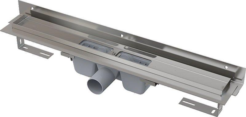 APZ4-650 podlahový nerezový žlab AlcaPlast 700 mm