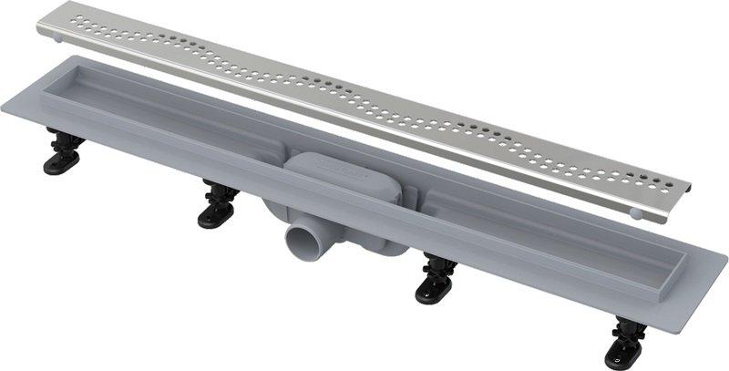 APZ8-850 Simple podlahový plastový žlab AlcaPlast 900 mm 0