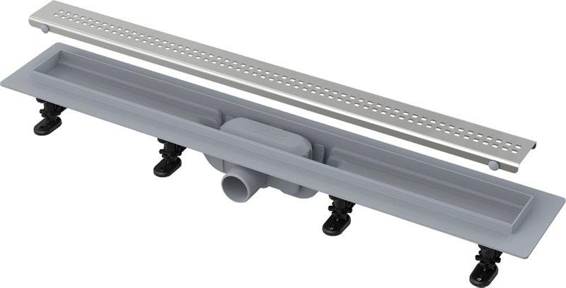 Podlahový plastový žlab APZ9 Simple AlcaPlast 0