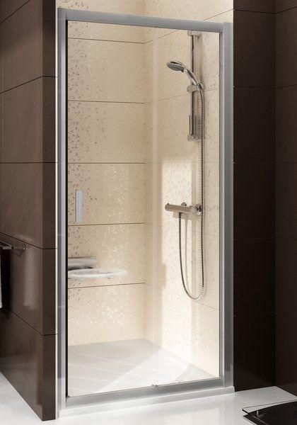 Sprchové dveře posuvné BLDP2-100 Transparent Ravak BLIX, satin 1