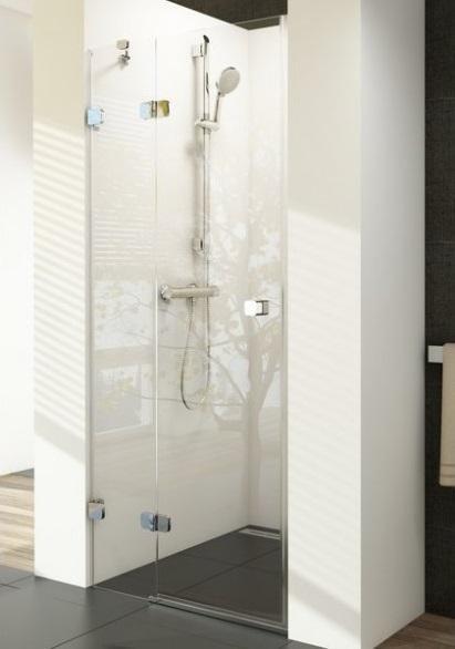 Sprchové dveře dvojdílné BSD2-90 A-L Ravak BRILLIANT, neobsahuje B-Set, chrom 1