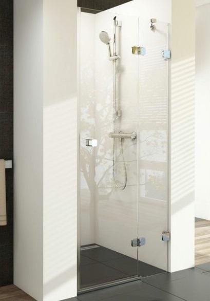 Sprchové dveře dvojdílné BSD2-80 A-R Ravak BRILLIANT, neobsahuje B-Set, chrom 1