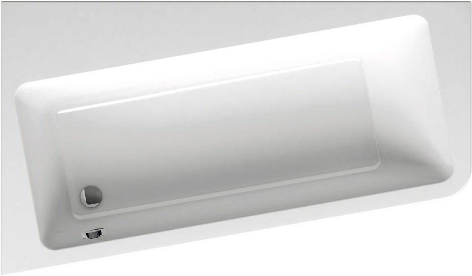 Vana 170 x 100 L 10° Ravak, levá, bílá 0