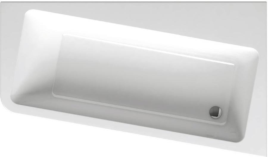 Vana 170 x 100 P 10° Ravak, pravá, bílá 1
