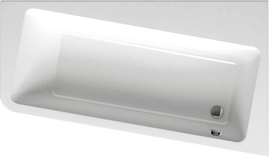 Vana 170 x 100 P 10° Ravak, pravá, bílá 0