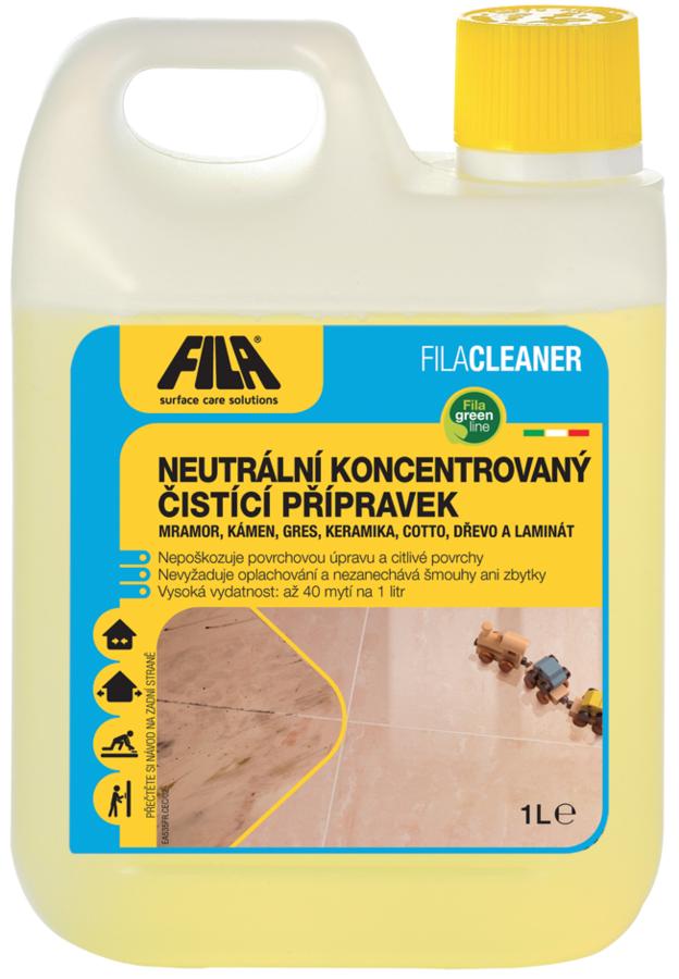 Neutrální koncentrovaný čistící prostředek Fila CLEANER 5 l 0