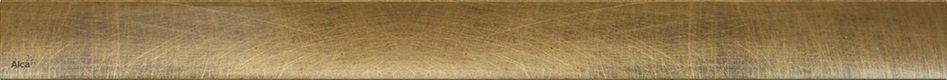 Rošt DESIGN-1150 ANTIC pro žlab APZ AlcaPlast, kov-bronz 0