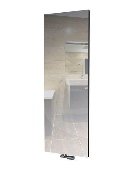 ISAN designový radiátor Variant Mirror se zrcadlem a LED osvětlením, výkon 931 W 1