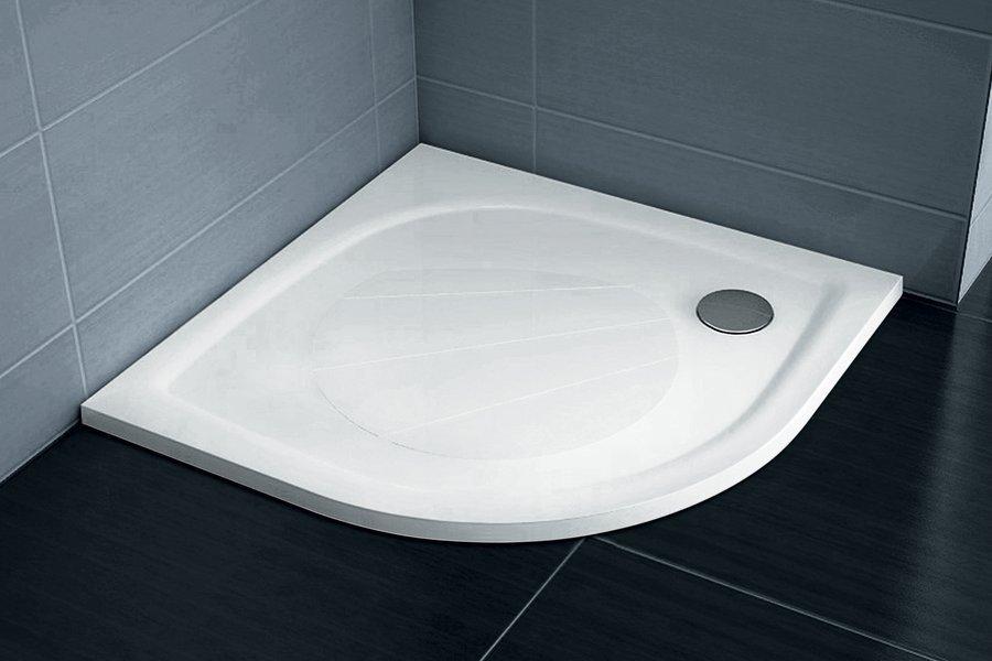 Sprchová vanička litá ELIPSO PRO-100 Ravak GALAXY PRO, bílá 0