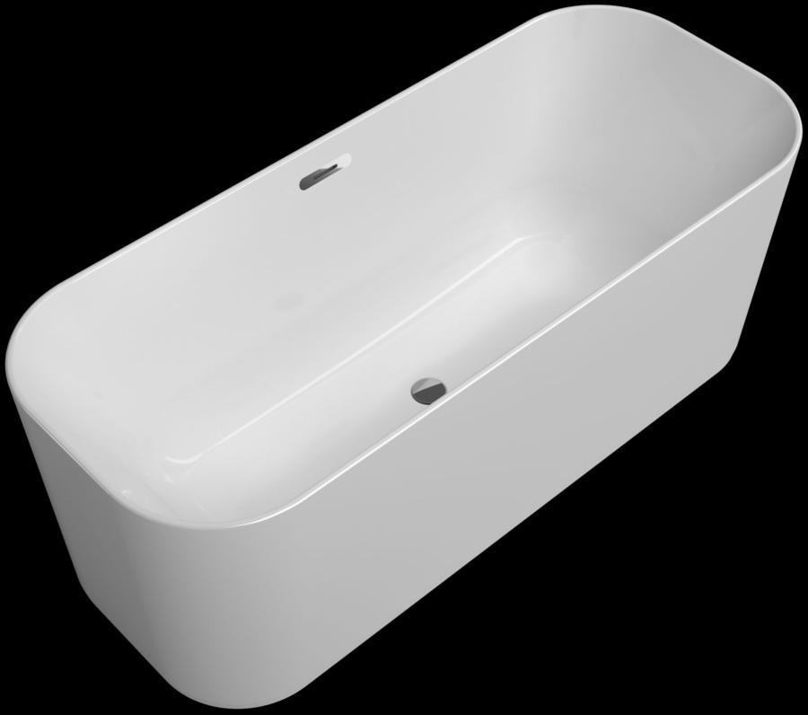 V&B Finion vana samostatně stojící, s lištou Design, Chrom 1
